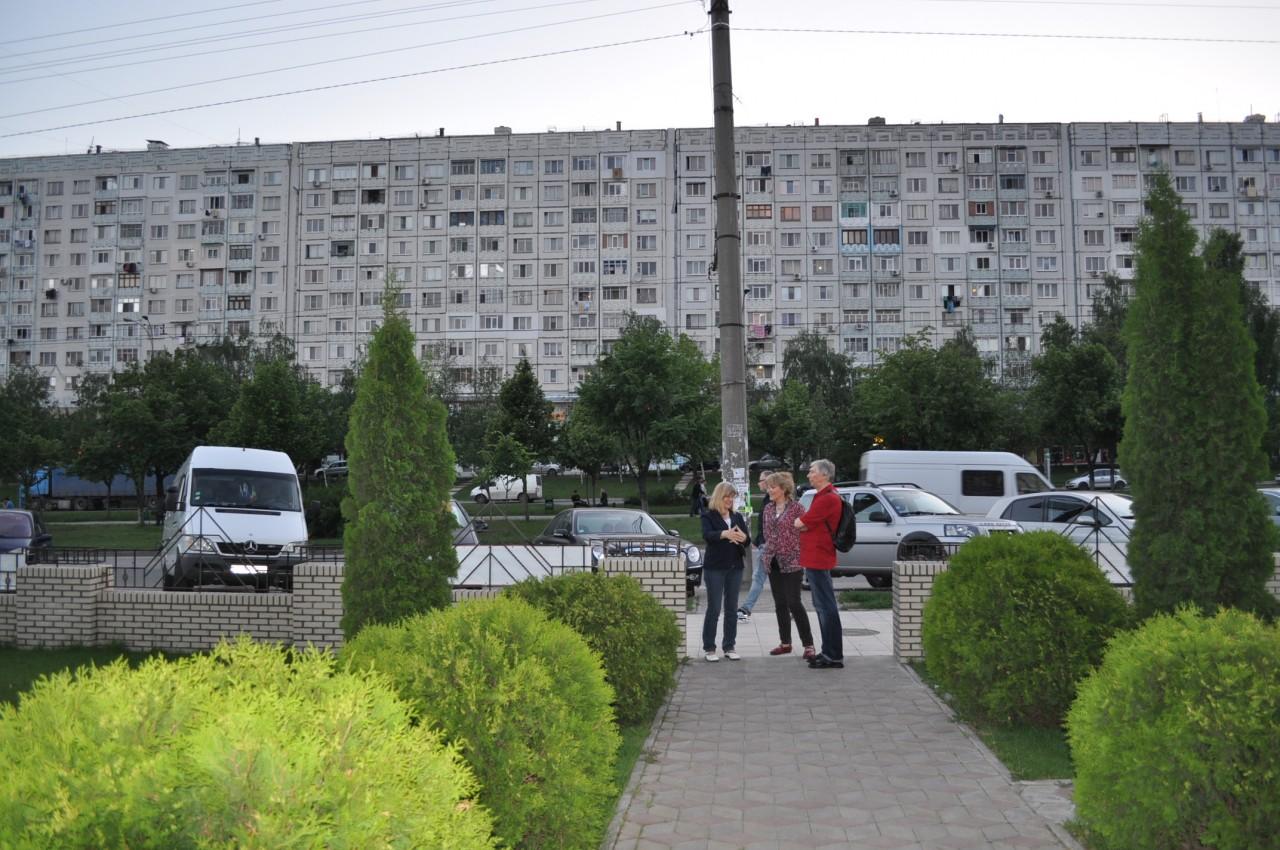 Moldawien-Reise 2014: Hochhäuser in Chisinau