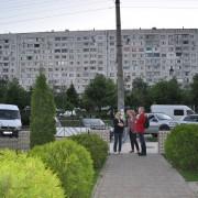 Hochhäuser in Chisinau