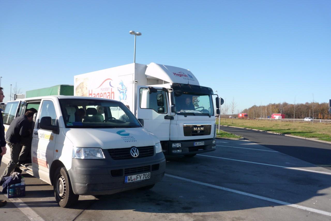 Weihnachtspäckchen-Aktion 2013: Fahrzeuge