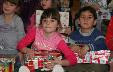 Kinder aus Serbien